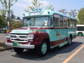 懐かしのボンネットバス(薬師寺駐車場)