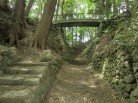 日野城の石積み